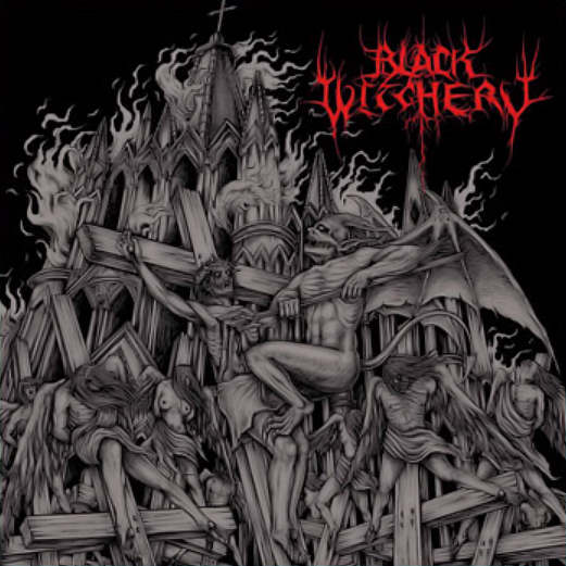 Black Witchery - Inferno Of Sacred Destruction (Splatter vinyl,Lim.100)