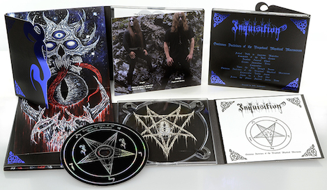 Inquisition - Ominous Doctrines of the Perpetual Mystical Macrocosm (Digipak Tome Edition)
