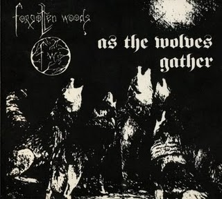 Forgotten Woods - As The Wolves Gather / Siel av natten  (Digipak)