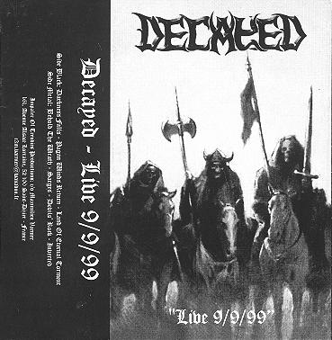 Decayed - Live 9/9/99