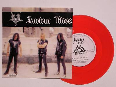ANCIENT RITES / THOU ART LORD - Split (Red Vinyl)