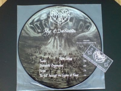 MERRIMACK - Ashes Of Purification (Picture LP,Lim.99)