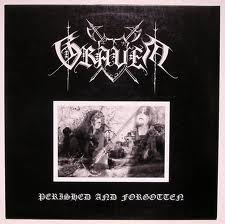 GRAVEN - PERISHED AND FORGOTTEN