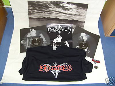 Thornium - Dominions Of The Eclipse (clear vinyl+T-shirt,Lim.100)