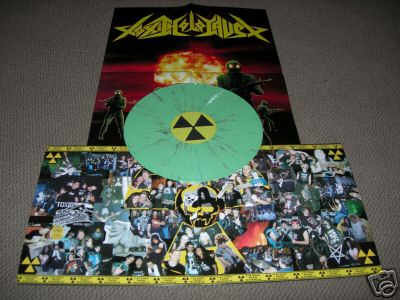 TOXIC HOLOCAUST - Critical Madness (green vinyl,Lim.100)