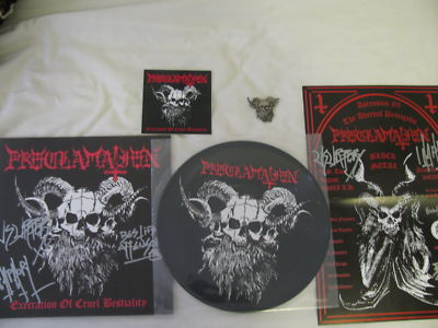 PROCLAMATION - EXECRATION OF CRUEL BESTIALITY (Picture LP,Die Hard)