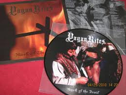Pagan Rites - Mark of the Devil (Picture LP,Lim.222)