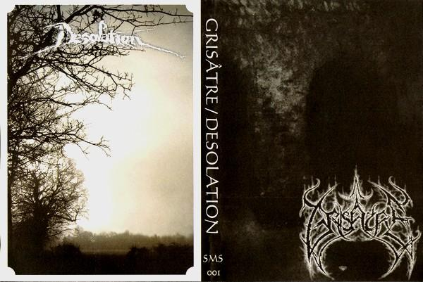 Grisâtre / Desolation-Split  (A5 DVD Case)