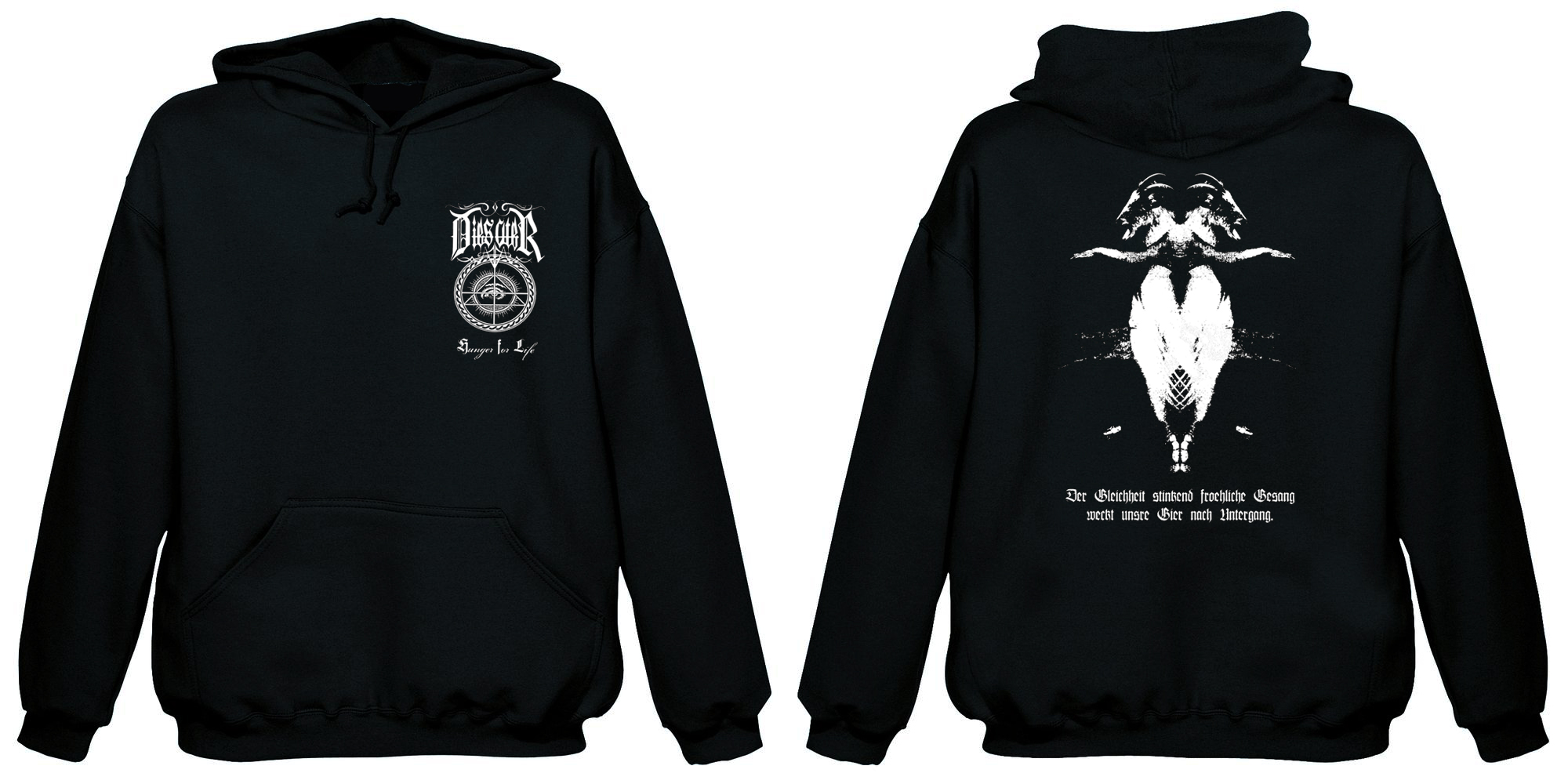Dies Ater-Hunger For Life (Hooded Sweatshirt)