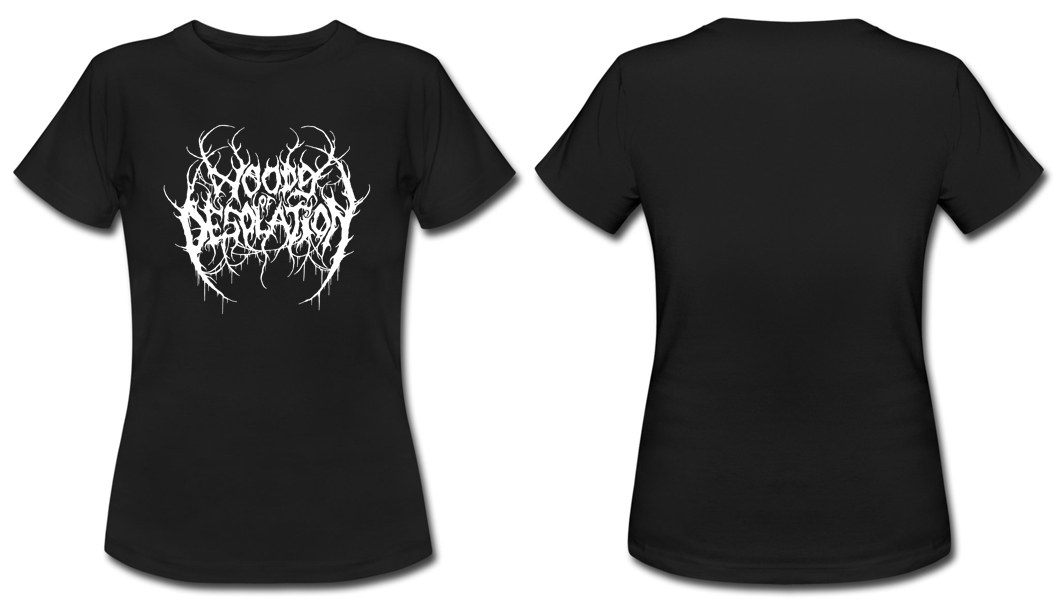 Woods Of Desolation-Logo  (Girlie shirt)