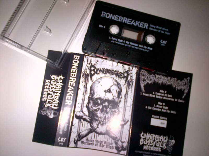 Bonebreaker-Heavy Metal Attack/Warriors Of The Night  (Lim.100)