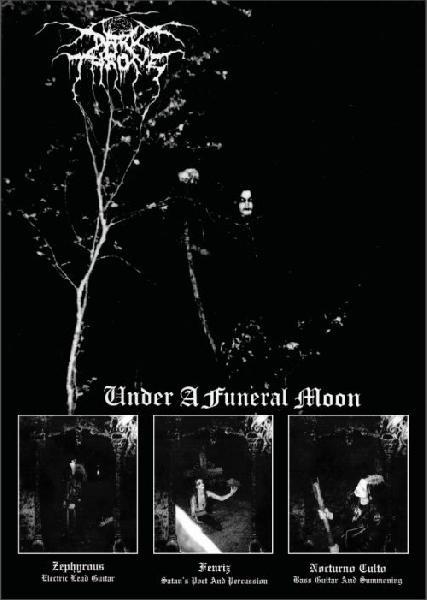 Darkthrone-Under The Funeral Under A Funeral Moon