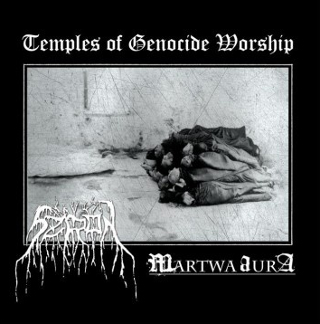 SZRON / MARTWA AURA - Temples of Genocide Worship
