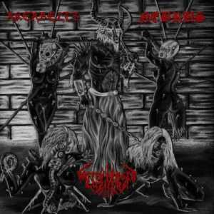 Akerbeltz / Waffentr�ger Luzifers / Nebrus - Slaughtered Whores of Satan