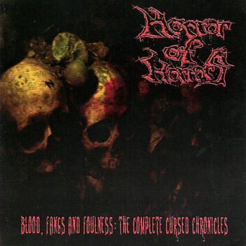 Horror of Horrors - Blood, Fangs and Foulness: The Complete Cursed Chronicles (Double CD)
