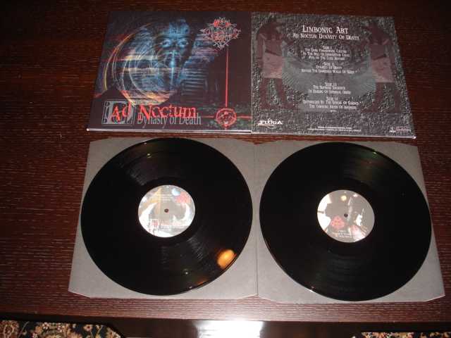 LIMBONIC ART - AD NOCTUM: DYNASTY OF DEATH  (Double LP)