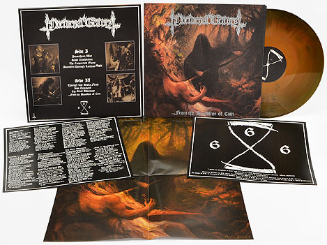 NOCTURNAL GRAVES - ...From The Bloodline Of Cain (colored vinyl+Poster)