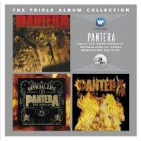 Pantera -The Triple Album Collection  (3xCD)