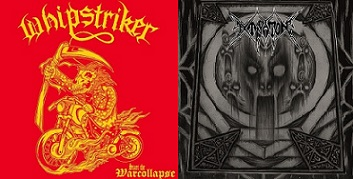 Whipstriker / Extirpation - Start the Warcollapse / The Oath of the Death