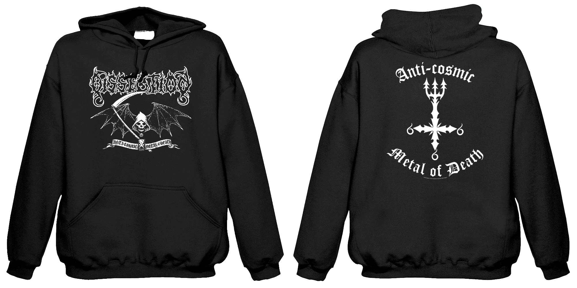 Dissection - Reaper  (Hooded Sweatshirt)