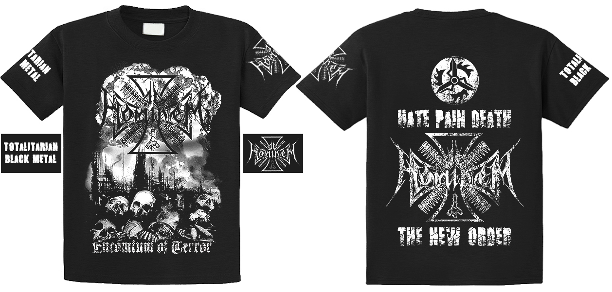 Ad Hominem - Encomium Of Terror ,T-shirt (size XL)