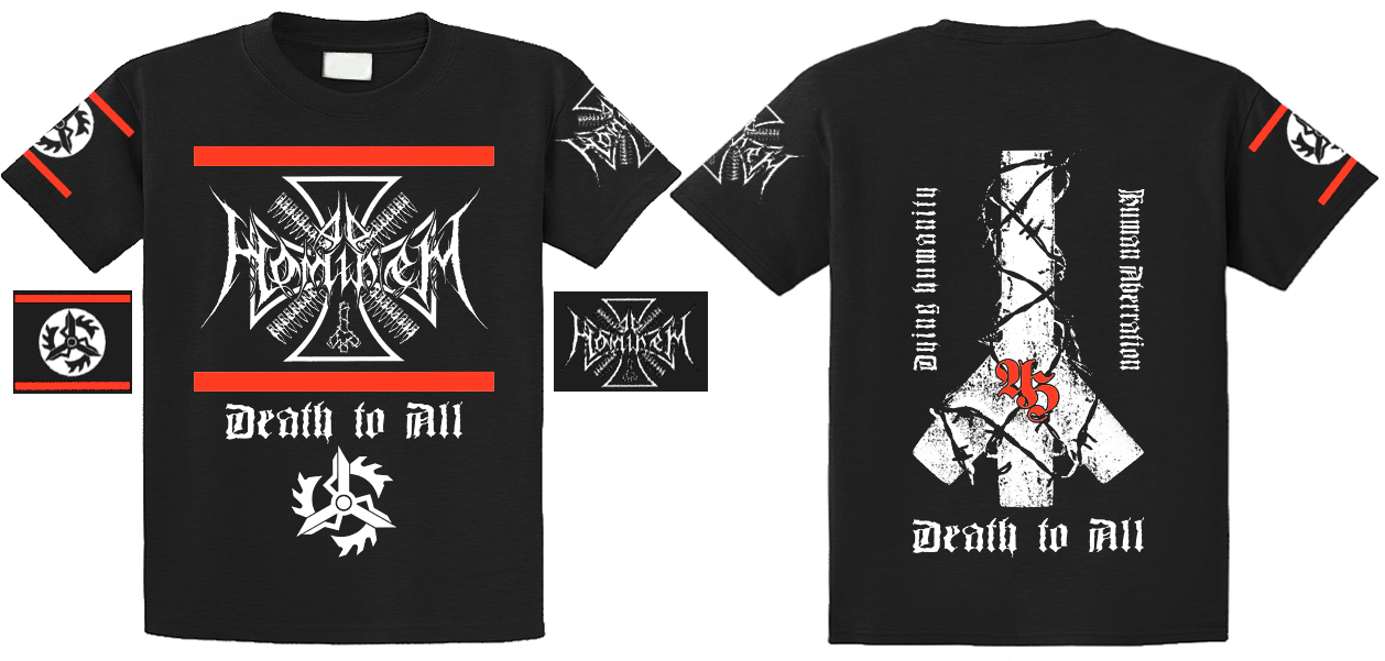 Ad Hominem - Death To All  ,T-shirt (size L)