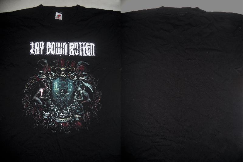 Lay Down Rotten - Logo+Picture