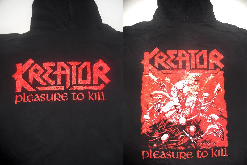 Kreator - Pleasure To Kill  (Hooded Sweatshirt)