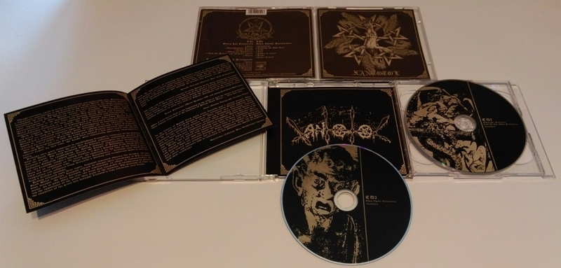 XANTOTOL - Glory For Centuries + Cult Of The Black Pentagram + Thus Spake Zaratustra (Double CD)