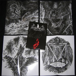 EVILWINGED - Blood. Semen. Venom of Phasms (A5 CD Box)
