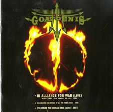 GOATPENIS - Alliance For War   (CD+DVD)