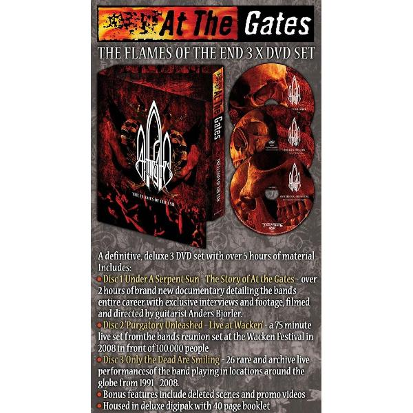 At the Gates - The Flames Of The End  (3 DVD Set)