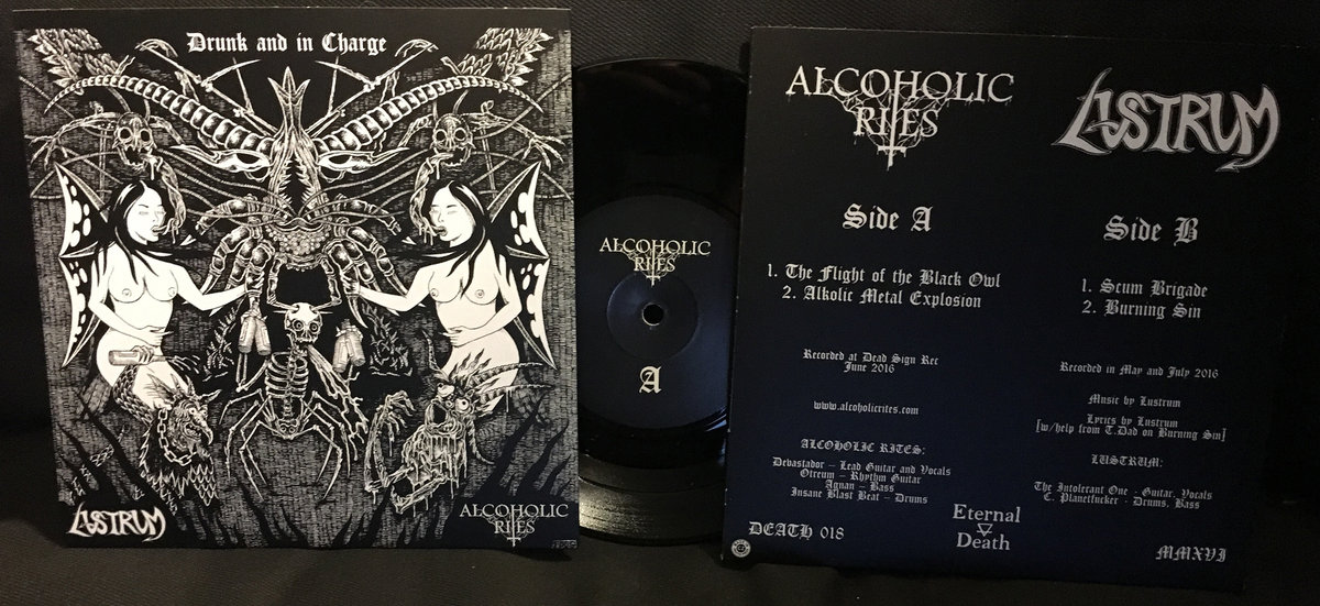 Alcoholic Rites / Lustrum - Drunk and in Charge