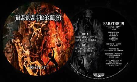 Barathrum - Devilry  (Picture LP)