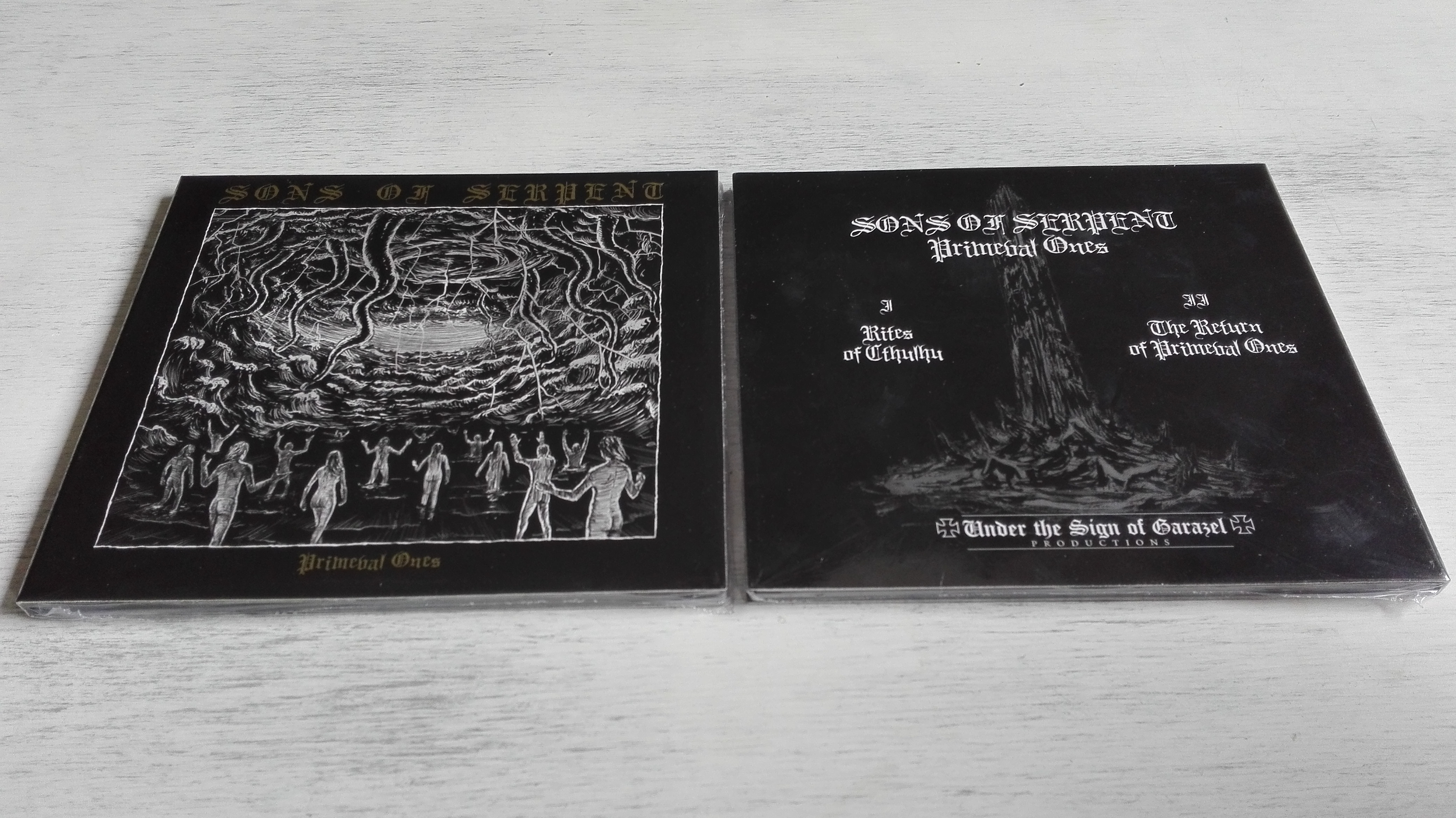 Sons Of Serpent - Primeval Ones  (Digipak)