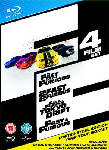The Fast And The Furious Limited Edition Complete Box Set