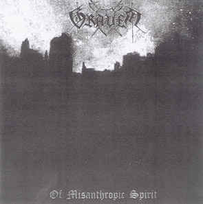 Graven - Of Misanthropic Spirit (CD-r)