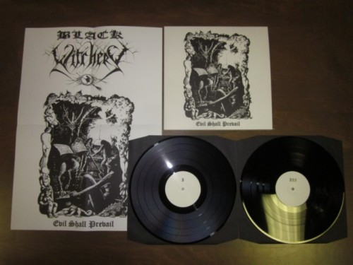 Black Witchery - Evil Shall Prevail  (Double-LP)