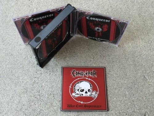 Conqueror - War.Cult.Supremacy  (Double CD+DVD)