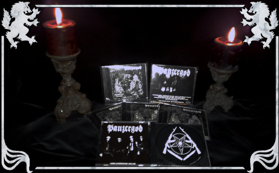 Panzergod - Deathshrouds Bestowed  (Cd-r,Lim. 150)