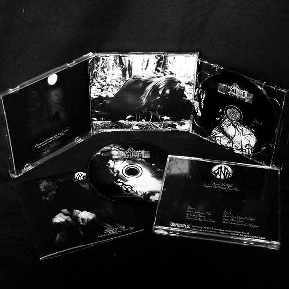 NUIT NOIRE - Depths of Night: Collection of the Early Demo Tapes (Double-CD)