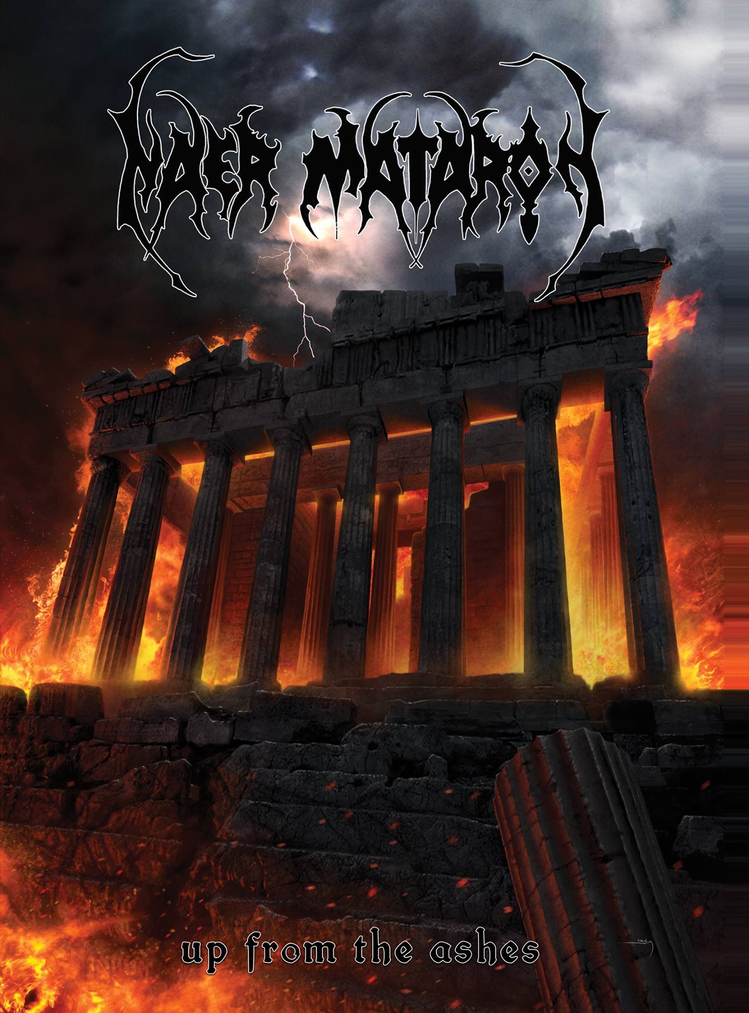 NAER MATARON - Up From the Ashes  (A5 Digipak)