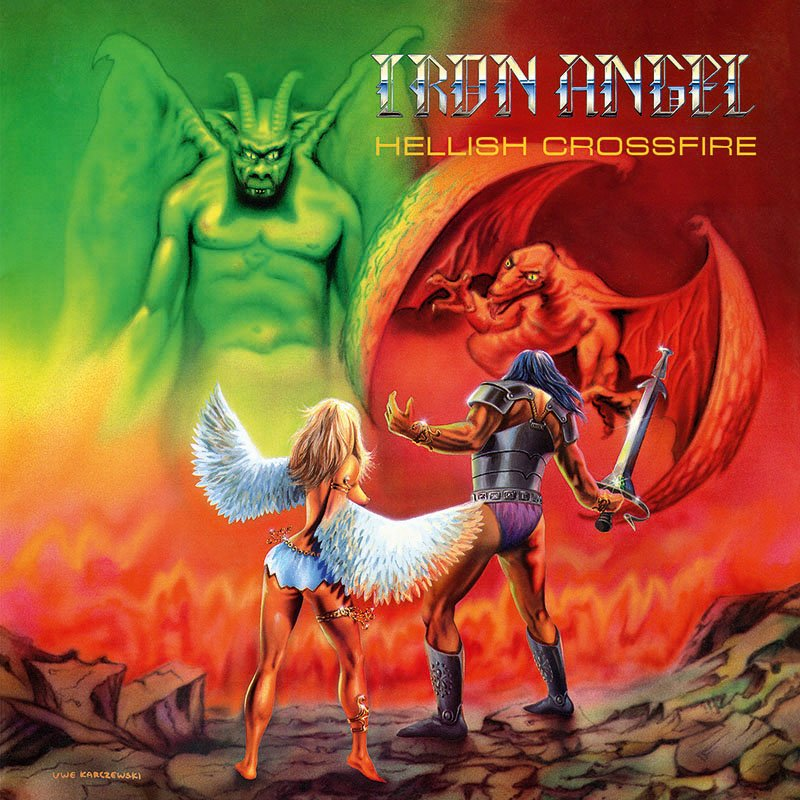 Iron Angel - Hellish Crossfire