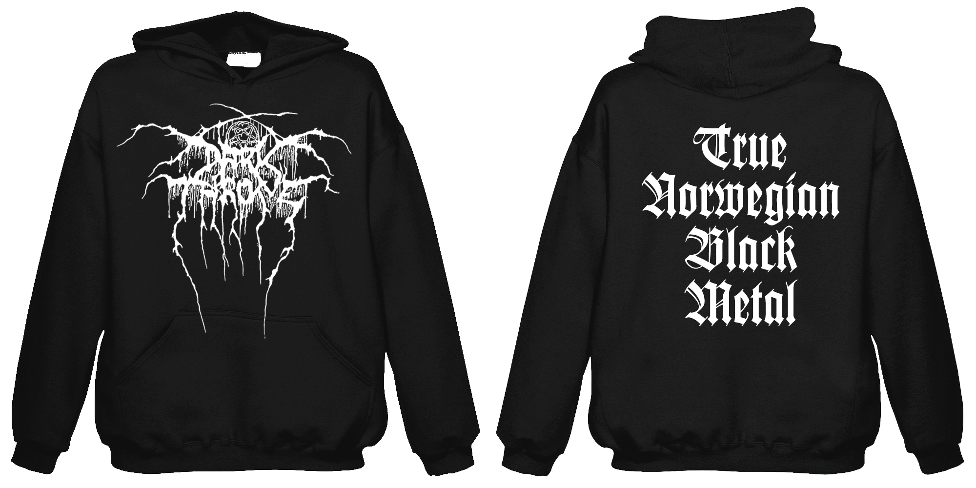 Darkthrone - True Norwegian Black Metal  (Hooded Sweatshirt)