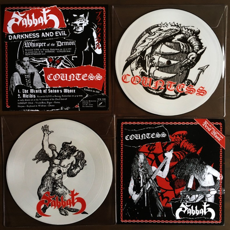 Countess/Sabbath - Split  (Picture 7