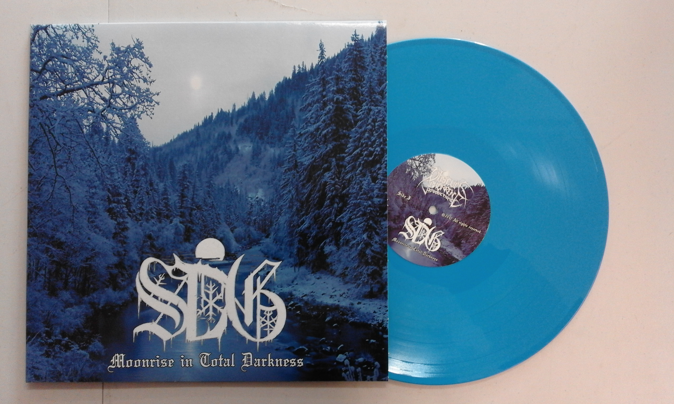 Sorcier des Glaces - Moonrise In Total Darkness  (Blue vinyl,Lim.100)