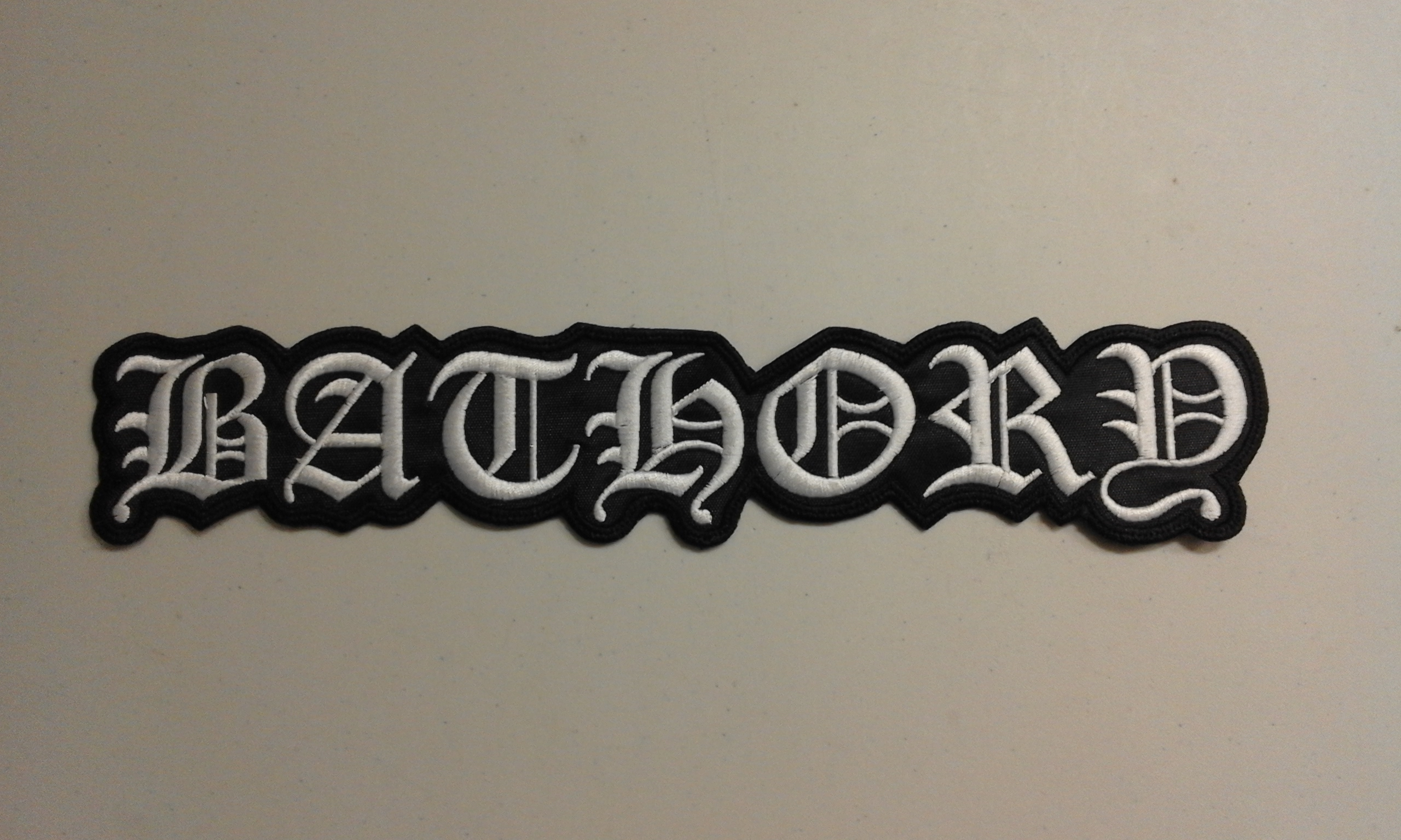 Bathory - Logo  (Backpatch)