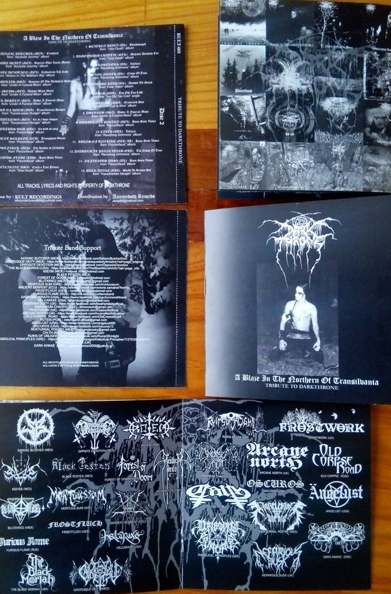 V/A - A Tribute To Darkthrone  (Double CD)