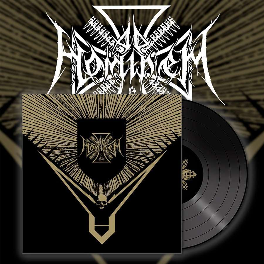 AD HOMINEM - Napalm for All  (Black vinyl,Lim.200)