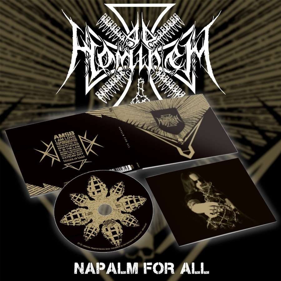 AD HOMINEM - Napalm for All   (Digipak)